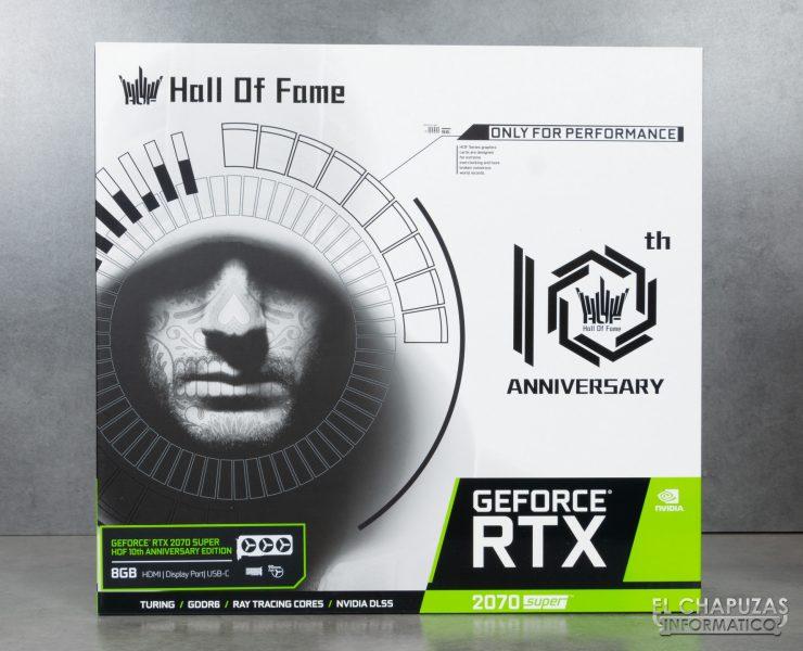 KFA2 GeForce RTX 2070 SUPER HOF SUPER HOF Edizione per il decimo anniversario - Confezione 1
