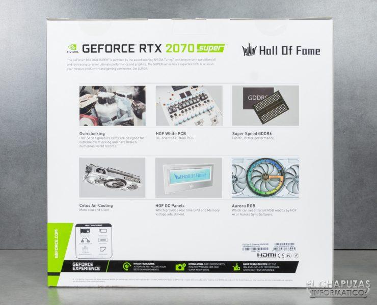 KFA2 GeForce RTX 2070 SUPER HOF SUPER HOF Edizione per il 10° anniversario - Confezione 2