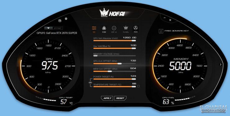 Recensione KFA2 GeForce RTX 2070 SUPER HOF SUPER HOF Edizione per il decimo anniversario - Software 1