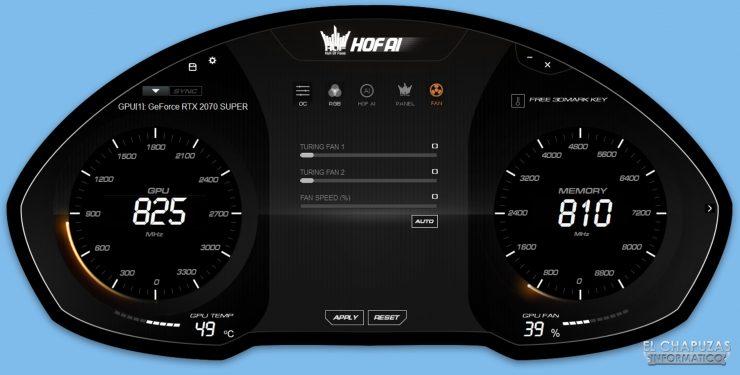 Recensione KFA2 GeForce RTX 2070 SUPER HOF SUPER HOF Edizione per il decimo anniversario - Software 4