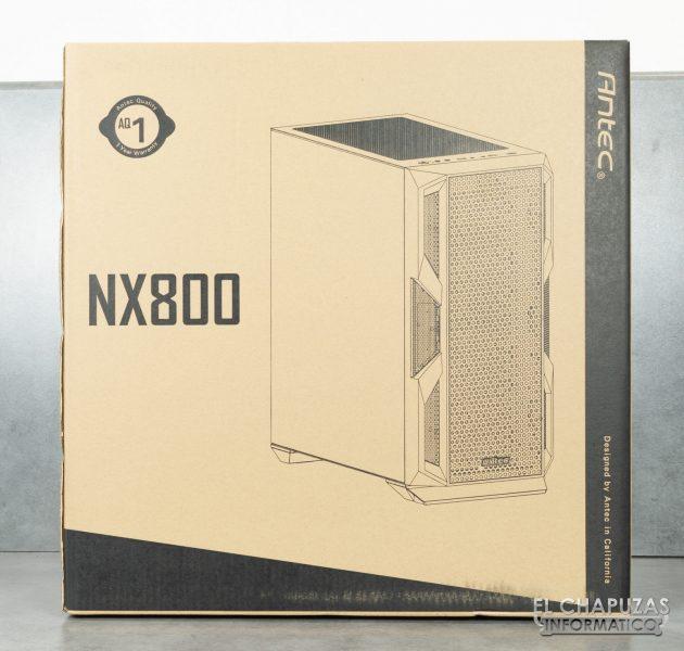 Antec NX800 - Imballaggio frontale