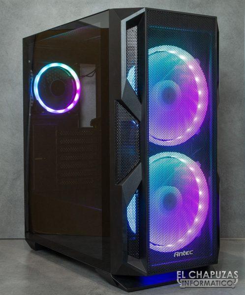 Antec NX800 - Illuminato