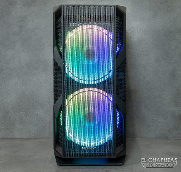 Antec NX800 - Frontale illuminato