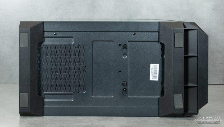 Antec NX800 - Lato inferiore