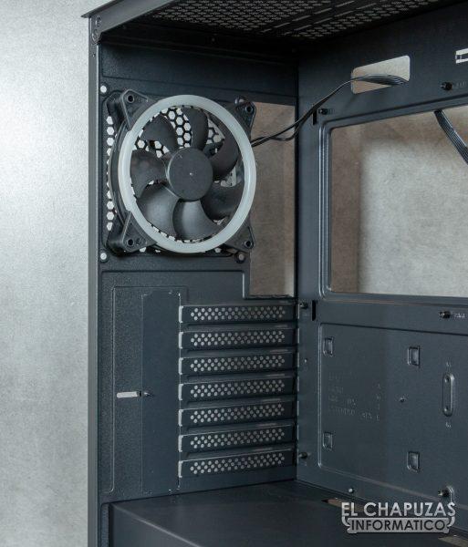 Antec NX800 - Interno - Lato posteriore