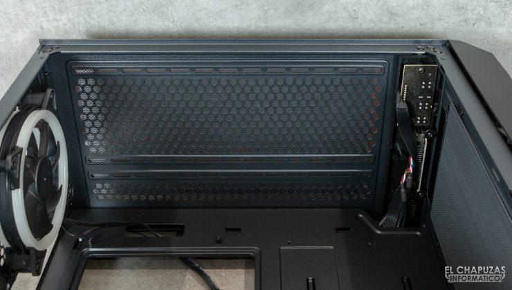 Antec NX800 - Interno - Lato superiore