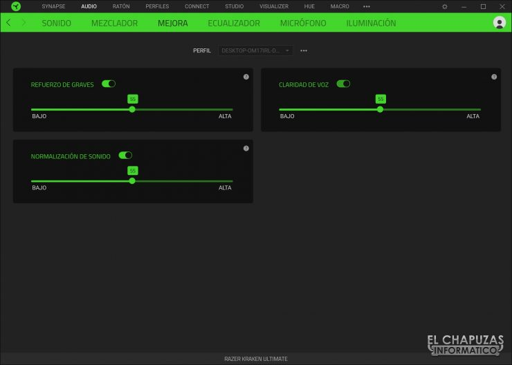 Razer Kraken Ultimate - Software 3