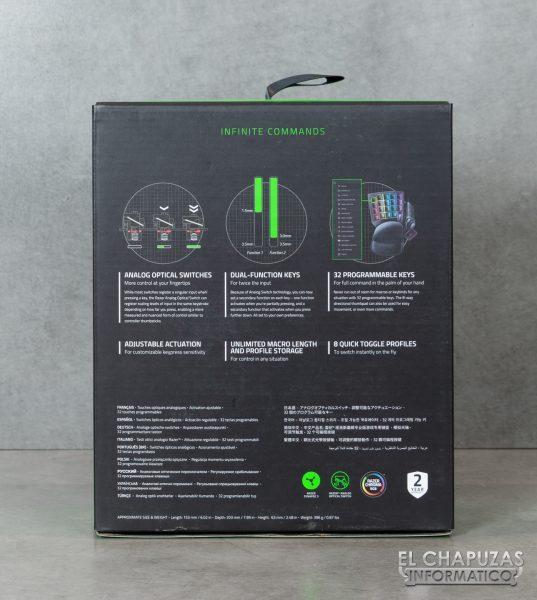 Razer Tartarus Pro - Imballaggio 2