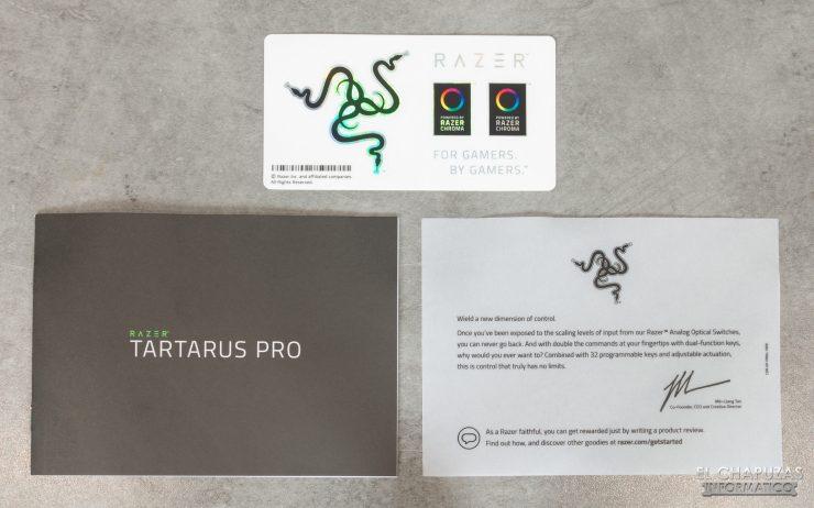 Razer Tartarus Pro - Documentazione