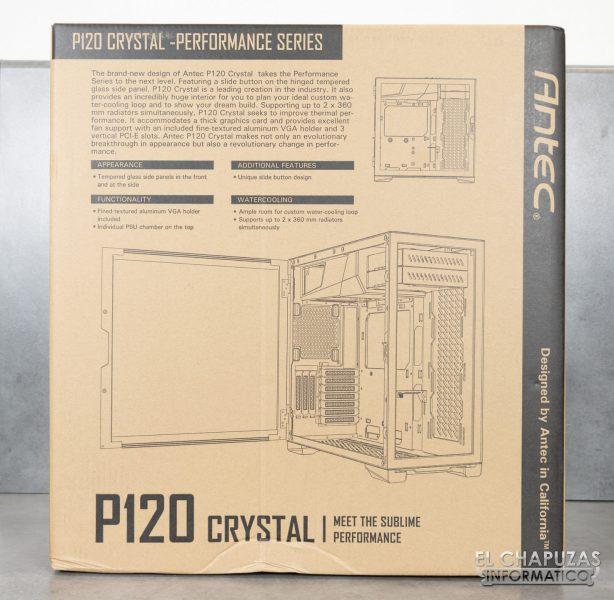 Antec P120 Crystal - Confezione 4