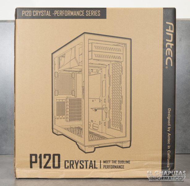 Antec P120 Crystal - Confezione 1