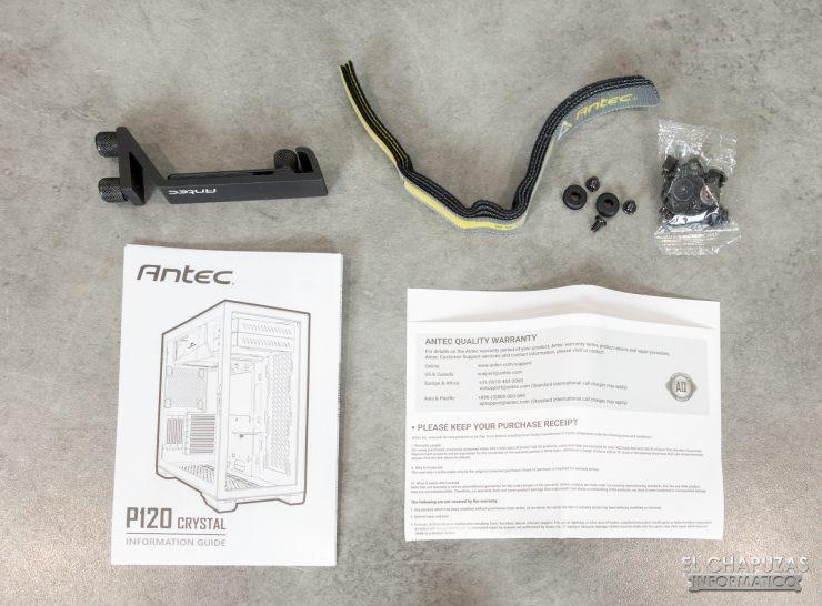 Antec P120 Crystal - Accessori