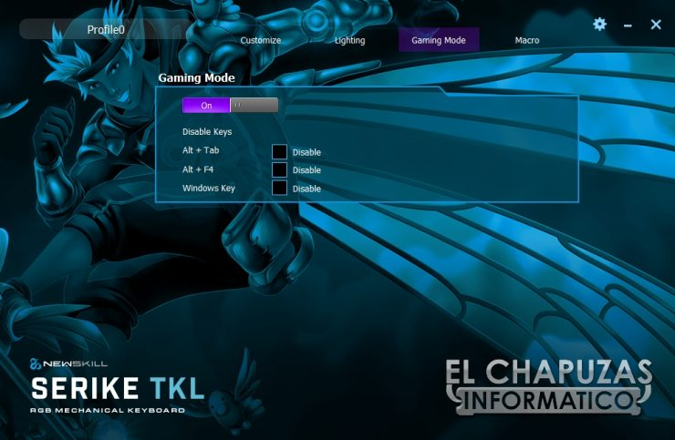 Newskill Serike TKL - Software 3