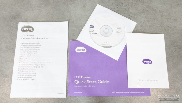 BenQ EW3280U - Documentazione