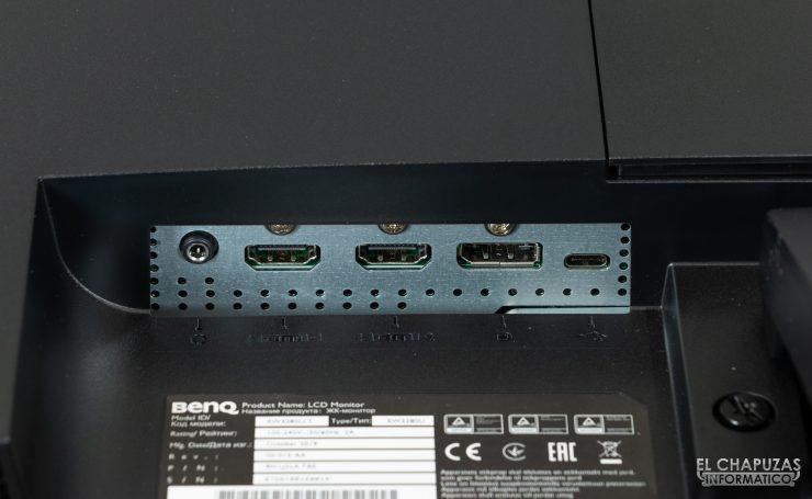 BenQ EW3280U - Connettori