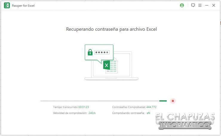 Passper per Excel 5