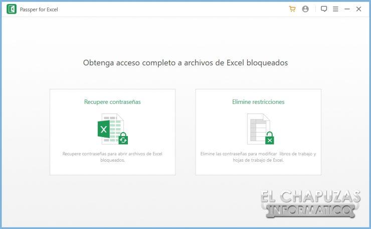Passper per Excel 3