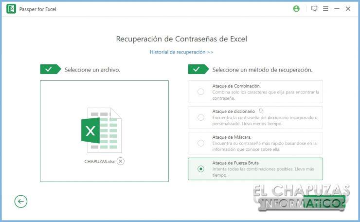 Passper per Excel 4