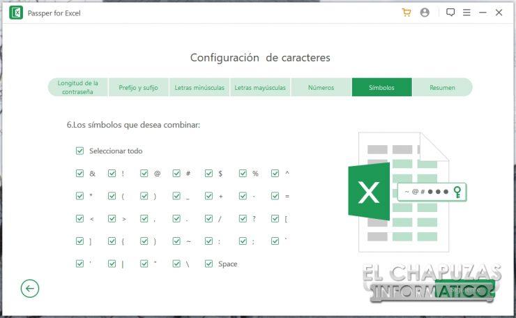 Passper per Excel 12