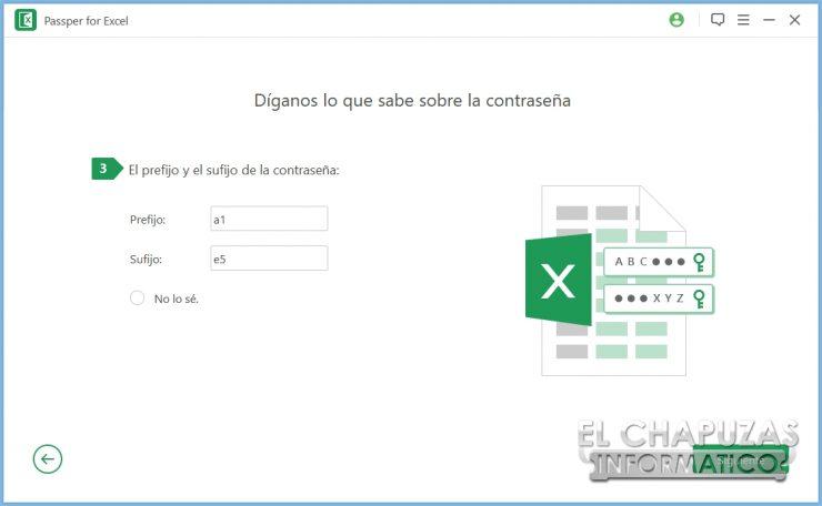 Passper per Excel 15