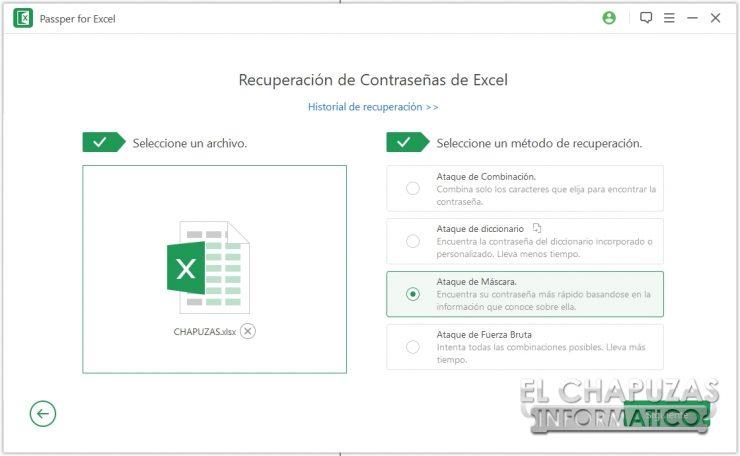 Passper per Excel 14