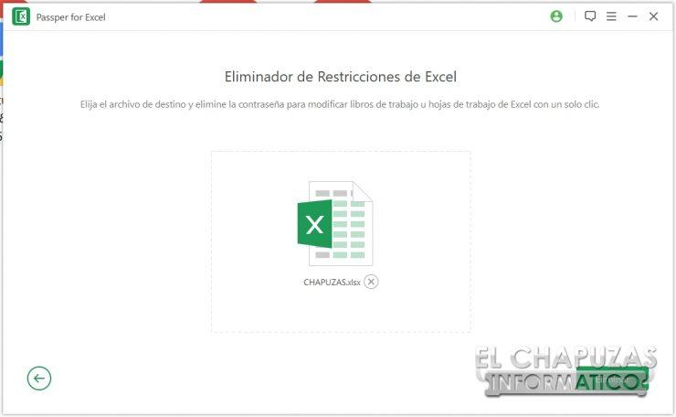 Passper per Excel 20