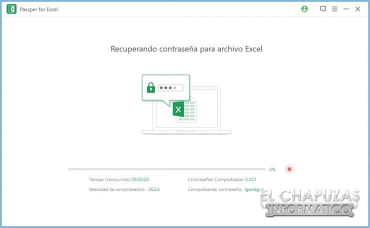Passper per Excel 19