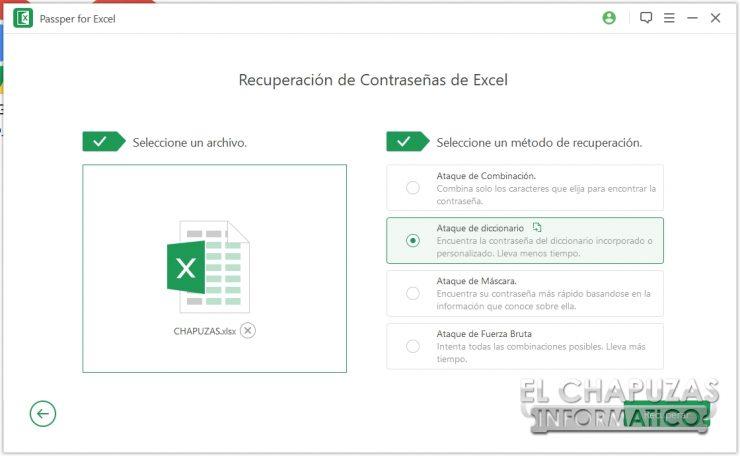 Passper per Excel 18