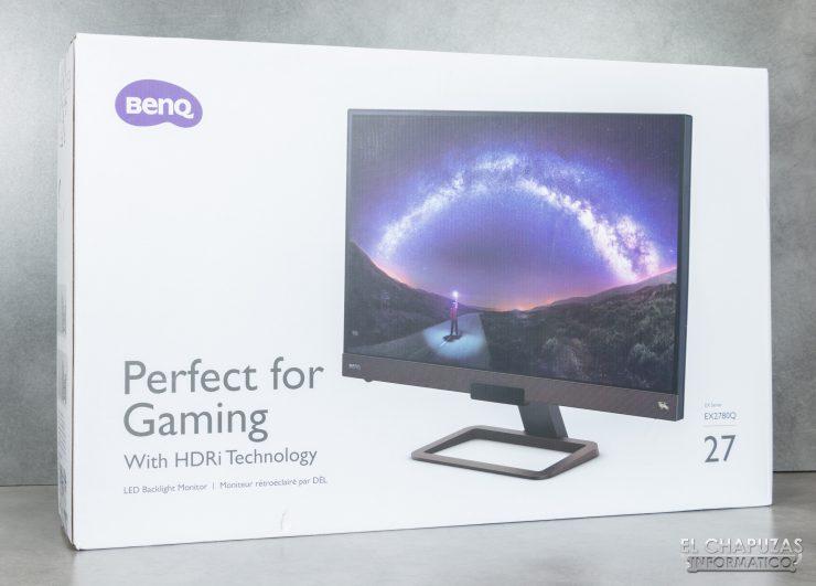 BenQ EX2780Q - Imballaggio 1