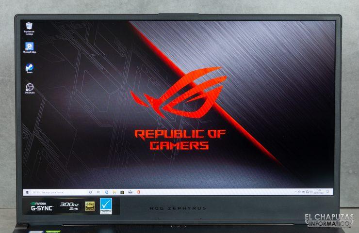 Asus ROG Zephyrus S GX701GXR - Display