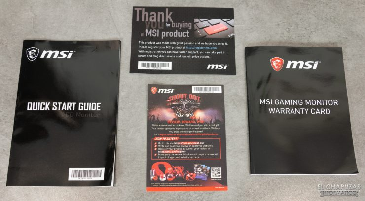 MSI Optix MAG272CQR - Documentazione