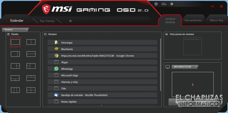 MSI Optix MAG272CQR - Software 5