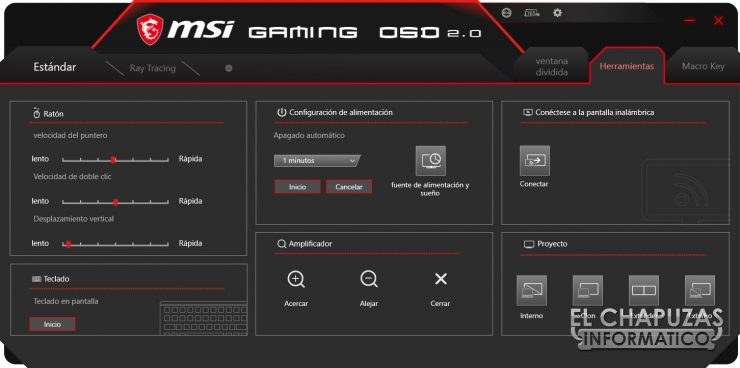 MSI Optix MAG272CQR - Software 6