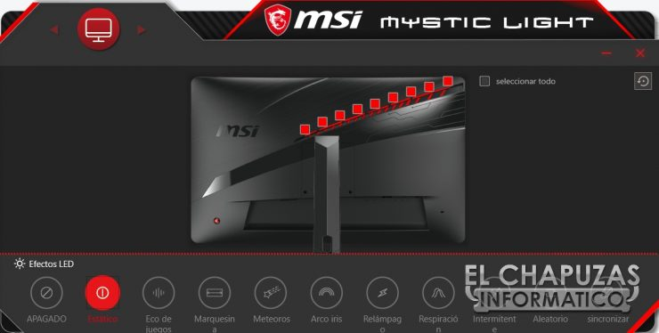 MSI Optix MAG272CQR - Software 8