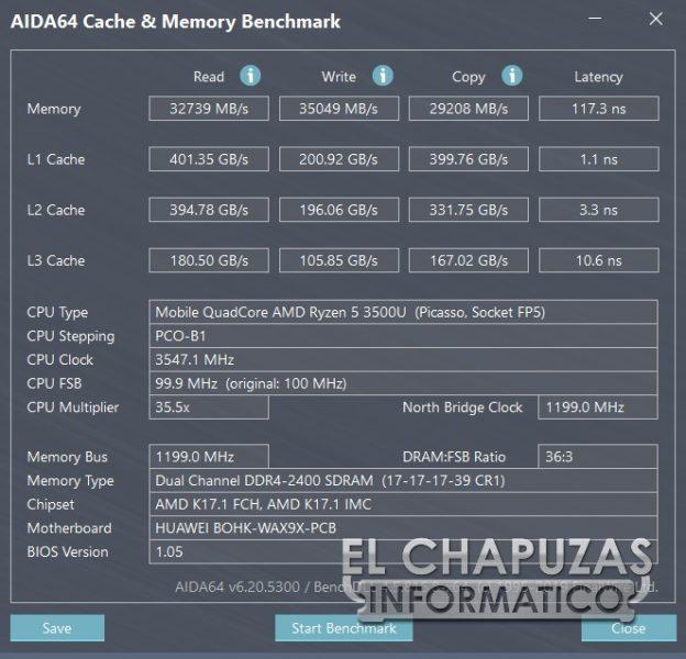 Huawei MateBook D 15 - Test 2