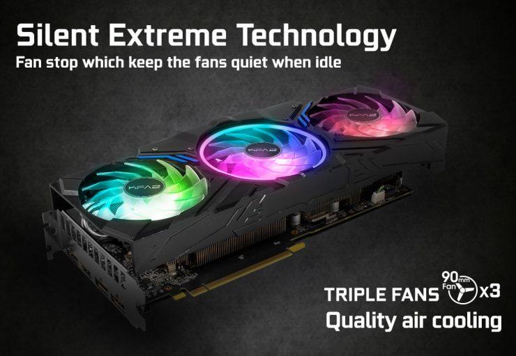 KFA2 GeForce RTX 2070 SUPER lavora con i telai