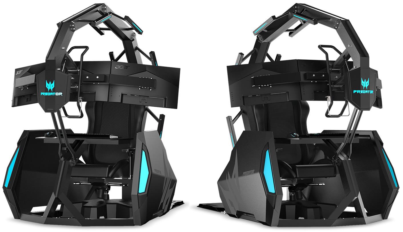 La sedia da gioco Acer Predator Thronos Air arriverà ...