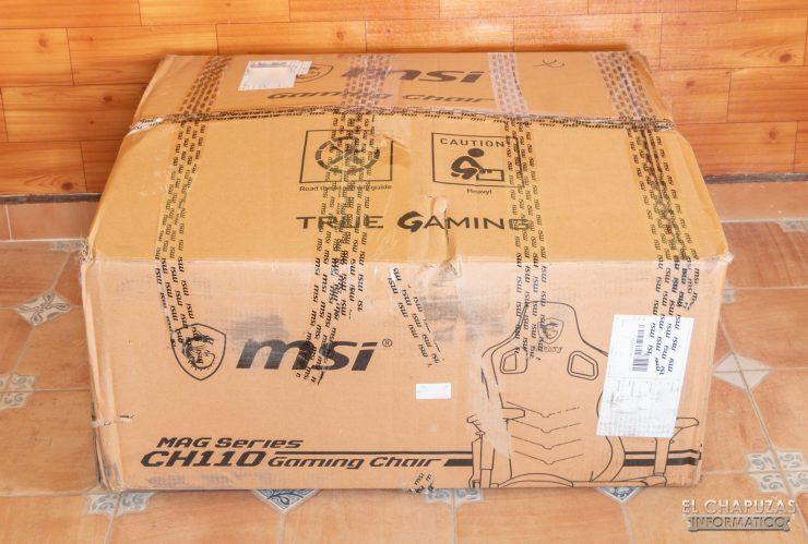 MSI MAG CH110 - Imballaggio 1