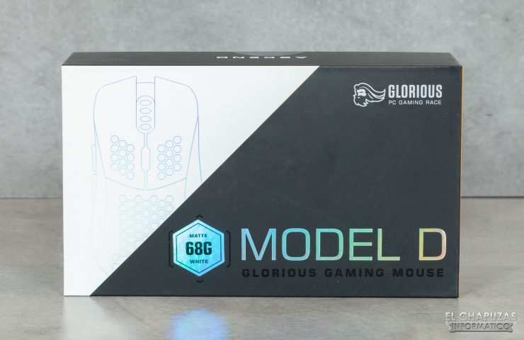 Glorioso PC Gaming Race Modello D - Imballaggio frontale