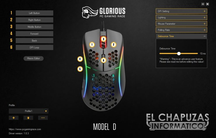 Glorioso PC Gaming Race Modello D - Software 5