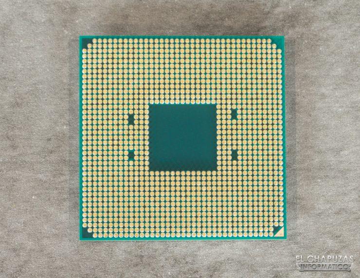 AMD Ryzen 5 1600 AF - Vista dal basso