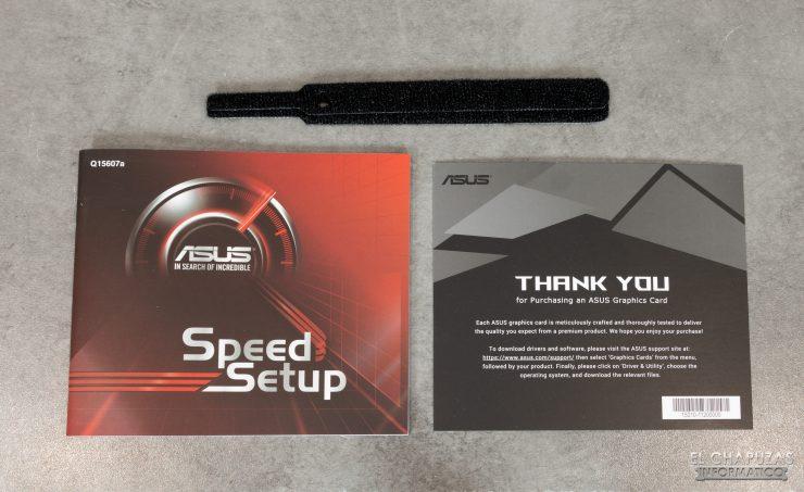 Asus ROG Strix Radeon RX 5600 XT OC - Accessori