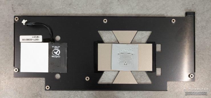 Asus ROG Strix Strix Radeon RX 5600 XT OC - Retroquadro rimosso