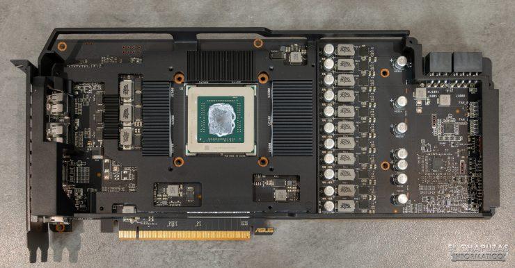 Asus ROG Strix Radeon RX 5600 XT OC - Frontale