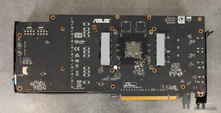 Asus ROG Strix Radeon RX 5600 XT OC - PCB posteriore