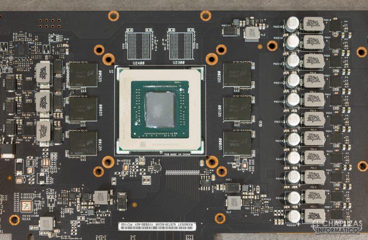 Asus ROG Strix Radeon RX 5600 XT OC - Core, memorie e VRM
