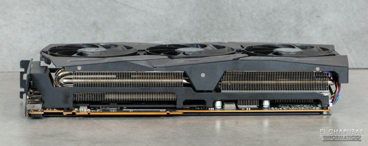Asus ROG Strix Radeon RX 5600 XT OC - Lato interno