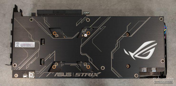 Asus ROG Strix Radeon RX 5600 XT OC - Backplate
