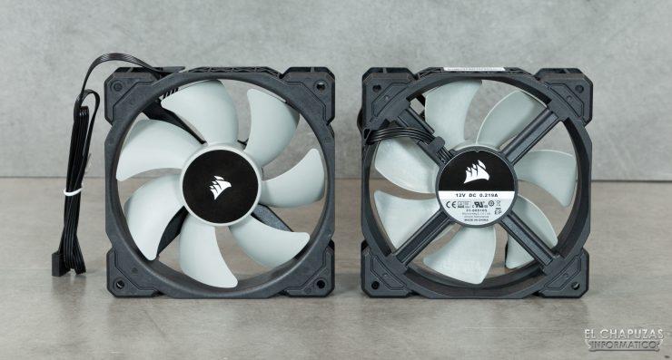 Ventole Corsair iCUE H100i RGB Pro XT - ML120 PWM Fans