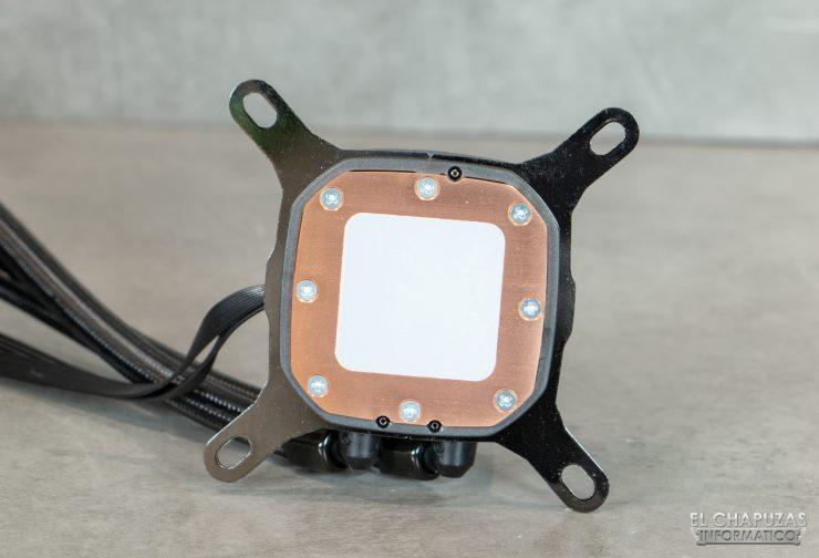 Corsair iCUE H100i RGB Pro XT - Base in rame con pasta preapplicata
